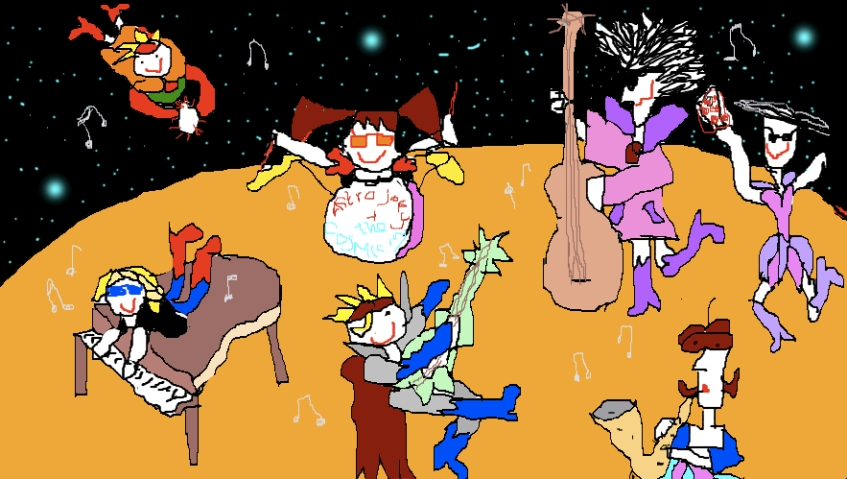 """Astro Joey & The Cosmic Rays hitting it out on Mars before Will I am launches his new song from rover """"Curiosity"""""""