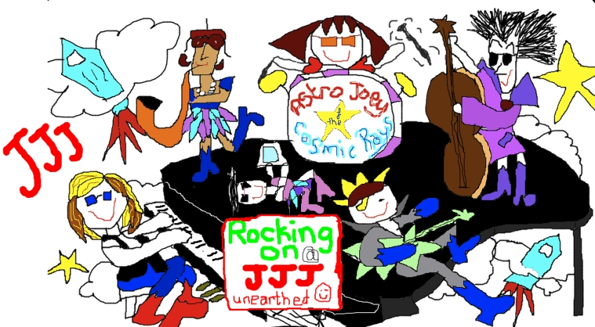Astro Joey & The Cosmic Rays Rocking it on JJJ Unearthed
